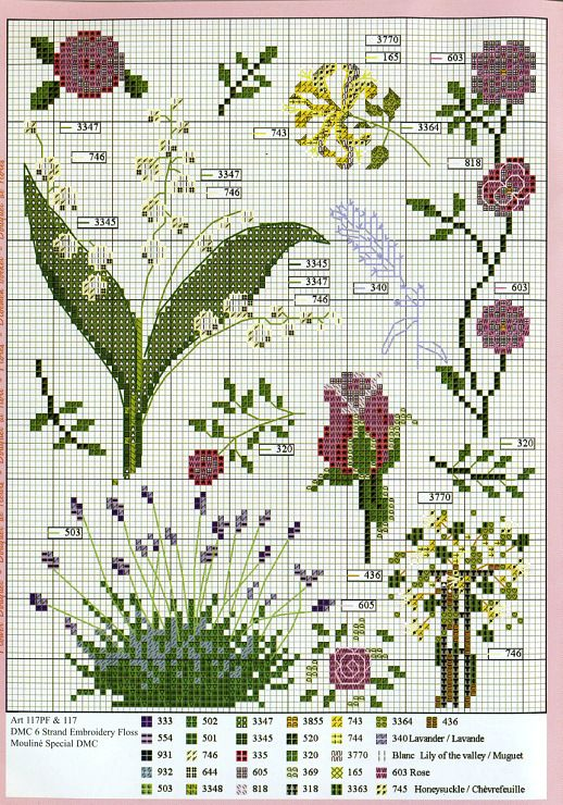 Floral 2 cross stitch