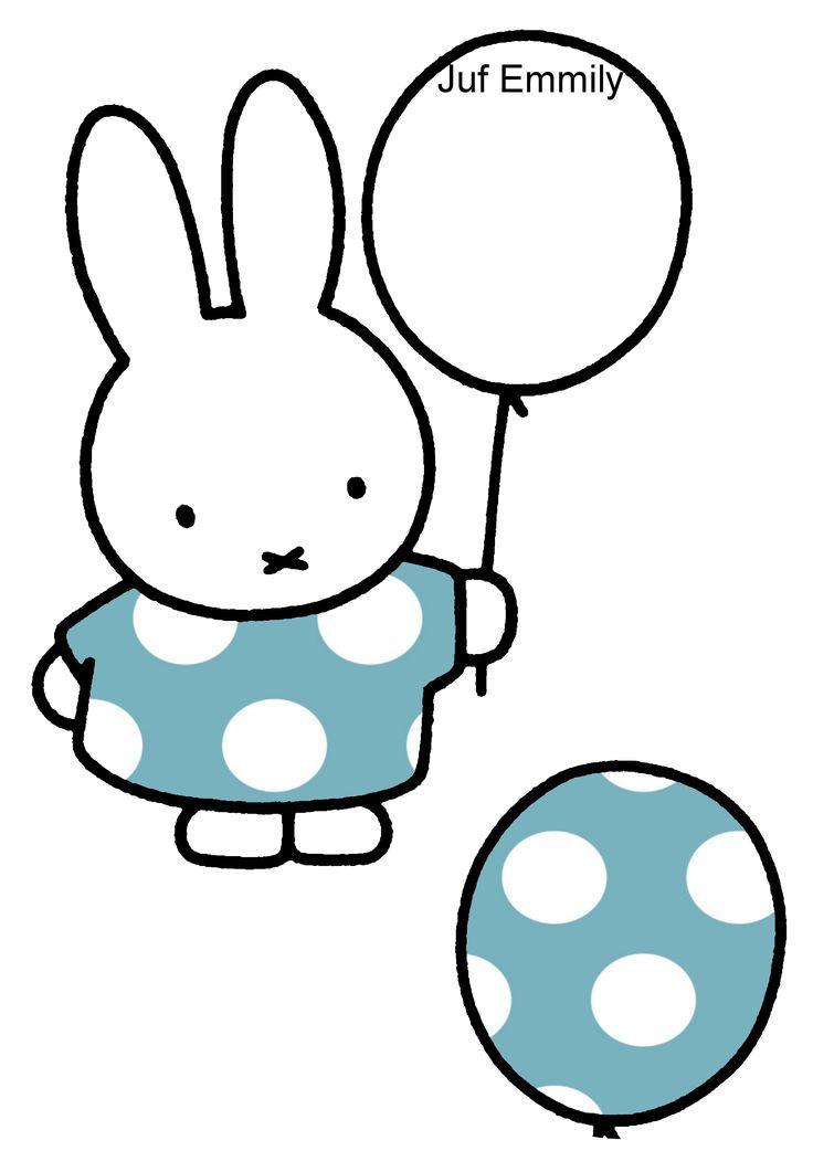 Thema Ballen en ballonnen! Geef Nijntje de juiste ballon! Juf EMMILY