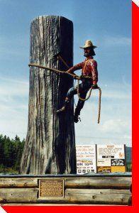 Upper Skeena Logger - New Hazelton, British Columbia