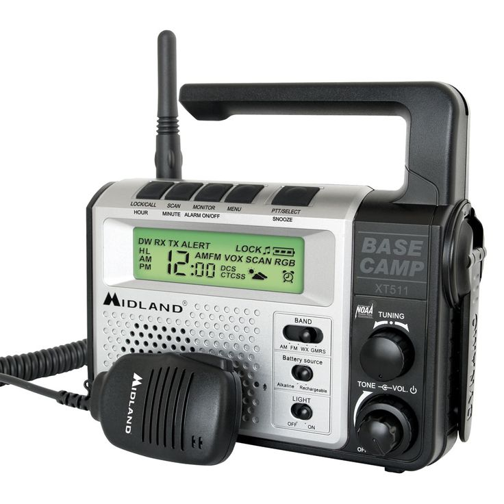 Midland XT511 Two-Way Base Camp Radio - https://www.boatpartsforless.com/shop/midland-xt511-two-way-base-camp-radio/
