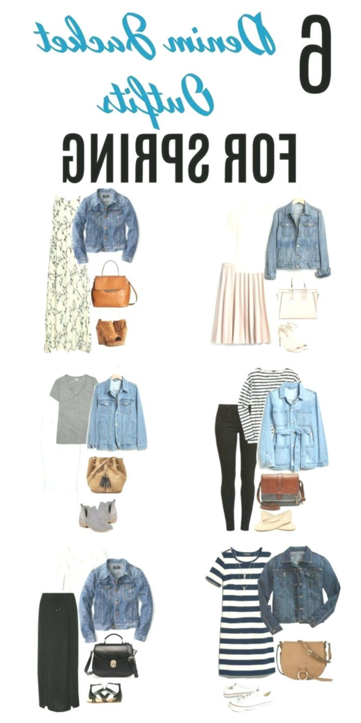 6 Denim Jacket Outfit Concepts for Spring