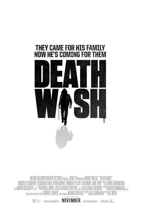 Death Wish Full Movie Online 2017
