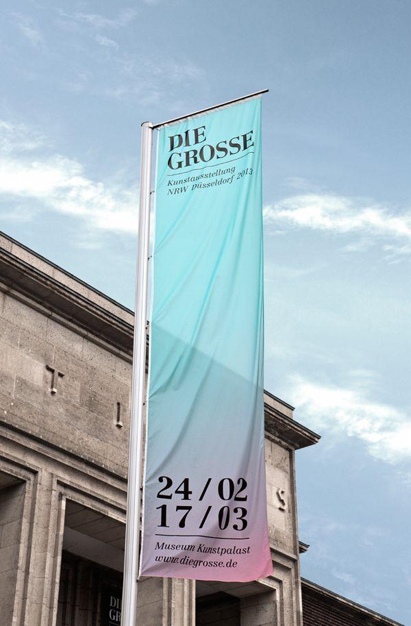 DIE GROSSE Kunstausstellung NRW - Branding by MORPHORIA DESIGN COLLECTIVE , via Behance