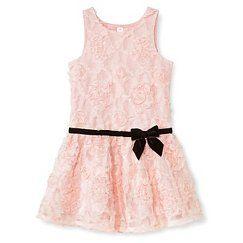 Toddler Girls' Dresses - Pastel Pink