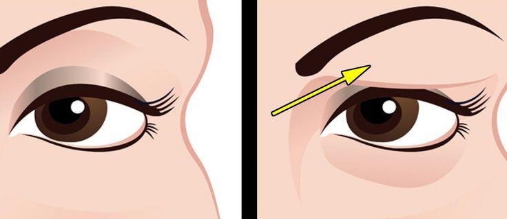 Povadlá oční víčka umí být občas řádně nepříjemná a otravná. Dají se sice částečně zamaskovat make-upem, ale ten na uvolněné pokožce nevypadá dobře.