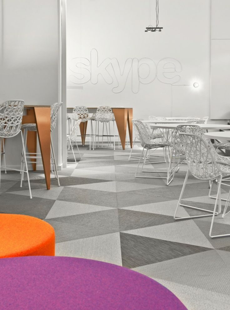 Skype's Modern Office Interior Design