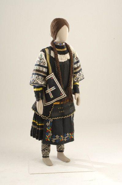 Η φορεσιά των Σαρακατσάνων | Πελοποννήσου | Culhub::Δήμος Μάνδρας - Ειδυλλίας