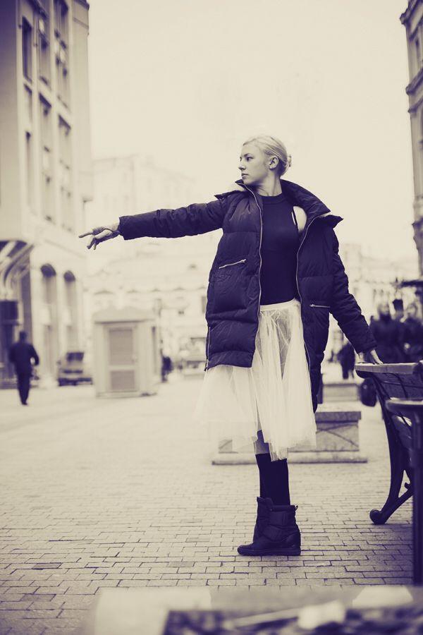 Осень. Улица. Балет.