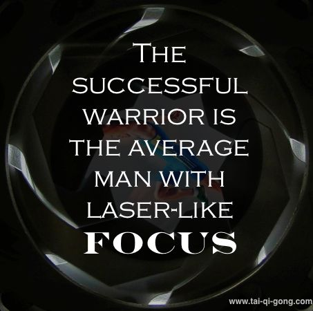 Stay focused. #Qigong #QigongQuotes For your daily dose of interesting qigong facts, quotes and information, LIKE or FOLLOW us or visit http://ow.ly/tVcyo. Read: Do's and Don'ts of Qigong Practice http://tai-qi-gong.com/dos-donts-qigong-practice/ Also read: The Power of Breathing Techniques http://tai-qi-gong.com/power-breathing-techniques/