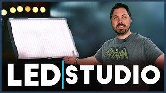 Best Video Lighting Kit? — Fovitec StudioPRO Bi Color LED Pannels Review - YouTube