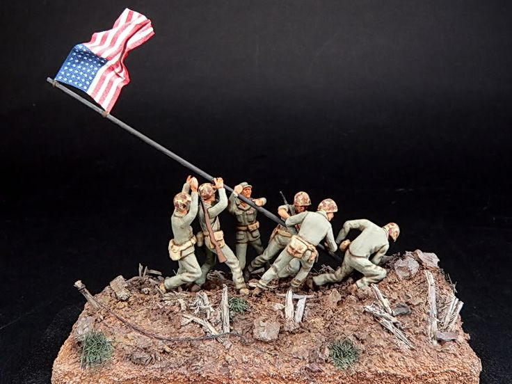 Iwo Jima - flag raisers