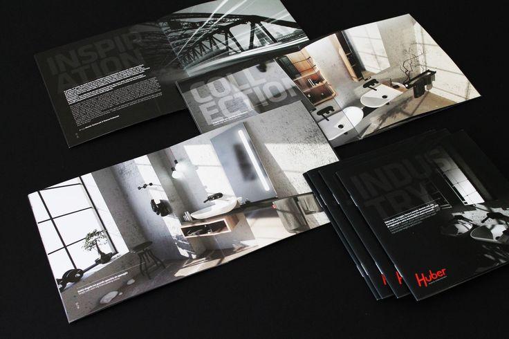 CISAL&HUBER, SALONE DEL MOBILE 2014  - Tiskoviny v jednotném duchu s instalací – podobná barevnost, fonty, celkový image. Grafika: Jan Štefl