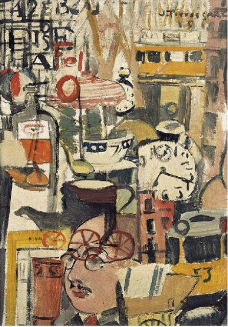 Joaquín Torres-García, The Arcadian Modern, Painting - The Museum of Modern Art, New York, United-States