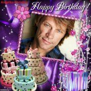 Bongiovi Franci John Happy 50th Birthday | Happy Birthday, Jon Bon Jovi