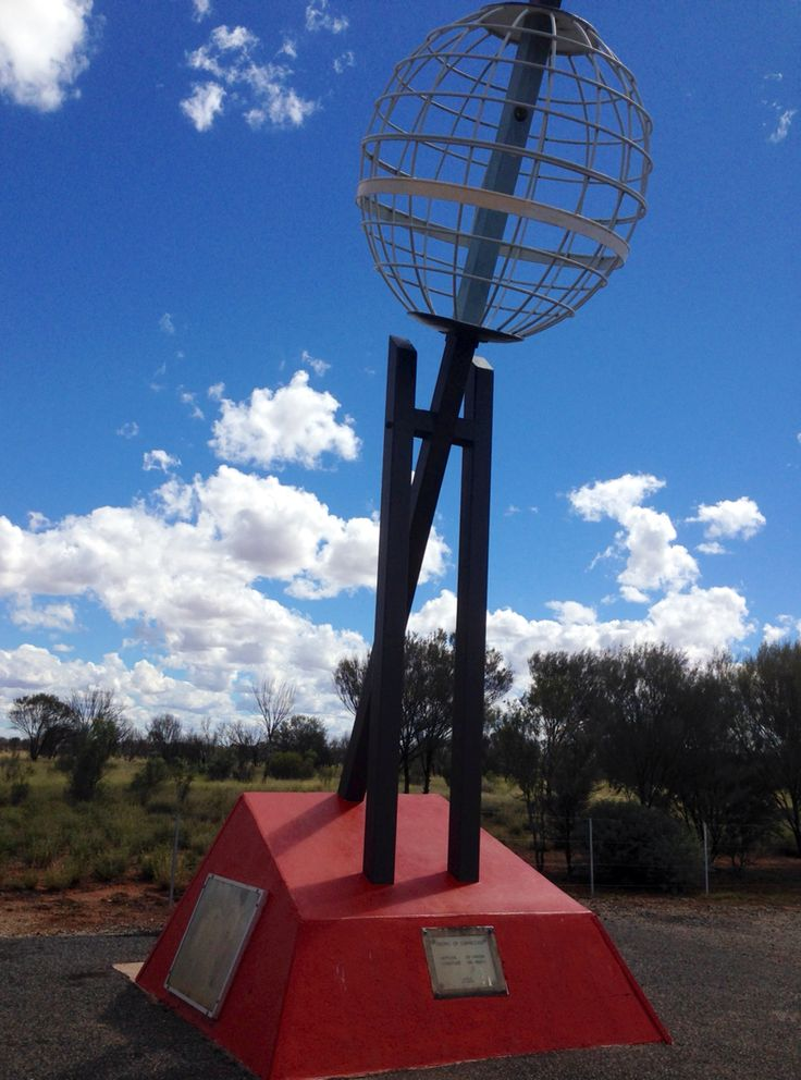 Tropic of Capricorn on Stuart Highway, NT, Australia