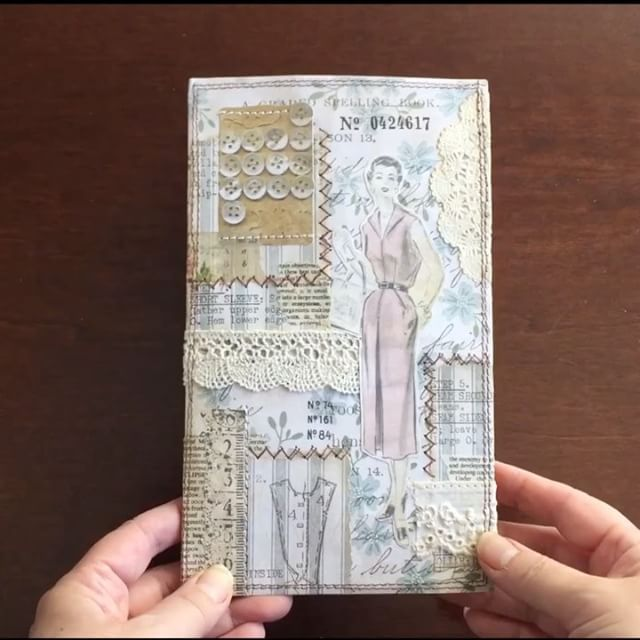 ...and here is the video of the junk journal I made/sewed. #journal #junkjournal #papercraft #notebook #scrapbooking #mixedmedia #collageart #sewingpaper #stationerylove #sewing #journaling #journalgirl #diyalbum #handmadealbum #timholtz #timholtzideaology #vintagestyle #lace #lacepaper #doilies #paperlove #collage #teadyedpaper #travelersnote #コラージュ #ジャンクジャーナル #ペーパークラフト #ティムホルツ #crafting #手帳タイム