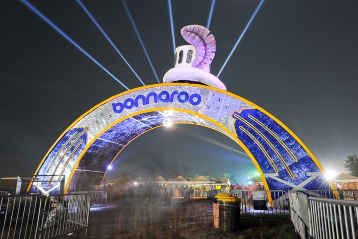 Bonnaroo...the long walk from camp is definately worth it!