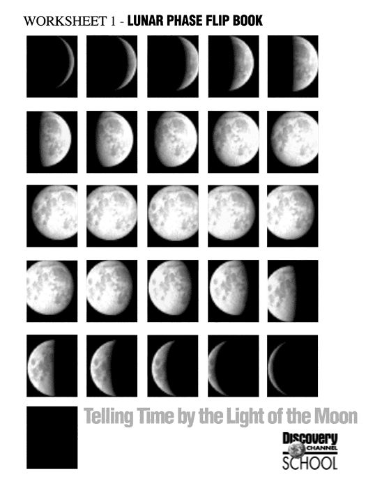 82 best images about moon phases on pinterest mini books activities and about moon. Black Bedroom Furniture Sets. Home Design Ideas