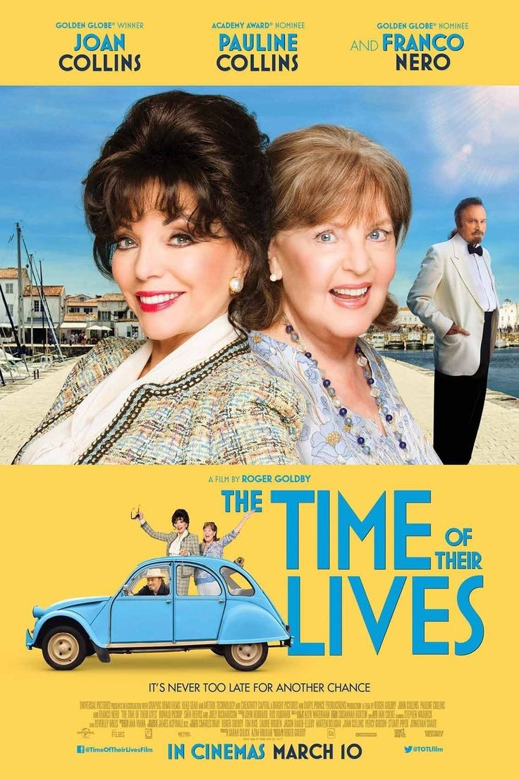The Time Of Their Lives (M) Available November 30 – Outdoor from February 30 The Time Of Their Lives BannerComedy/Romance. Rated M, 104 Minutes. Starring: Joan Collins, Pauline Collins, Franco Nero A former Hollywood star leaves her London retirement home with a friend to go to her ex-husband's funeral in France. On the way, the two women get romantically involved with a Frenchman.