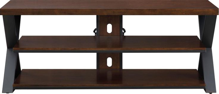 """Whalen - TV Stand for Most TVs Up to 60"""" - Cherry brown"""