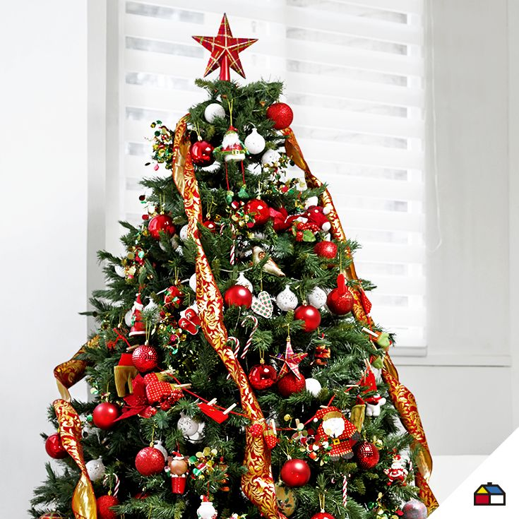 Arma el árbol de navidad con tu propio estilo #Sodimac #Homecenter #Perú #navidad #celebracion #hogar #inspiración #decoracion #homedecor