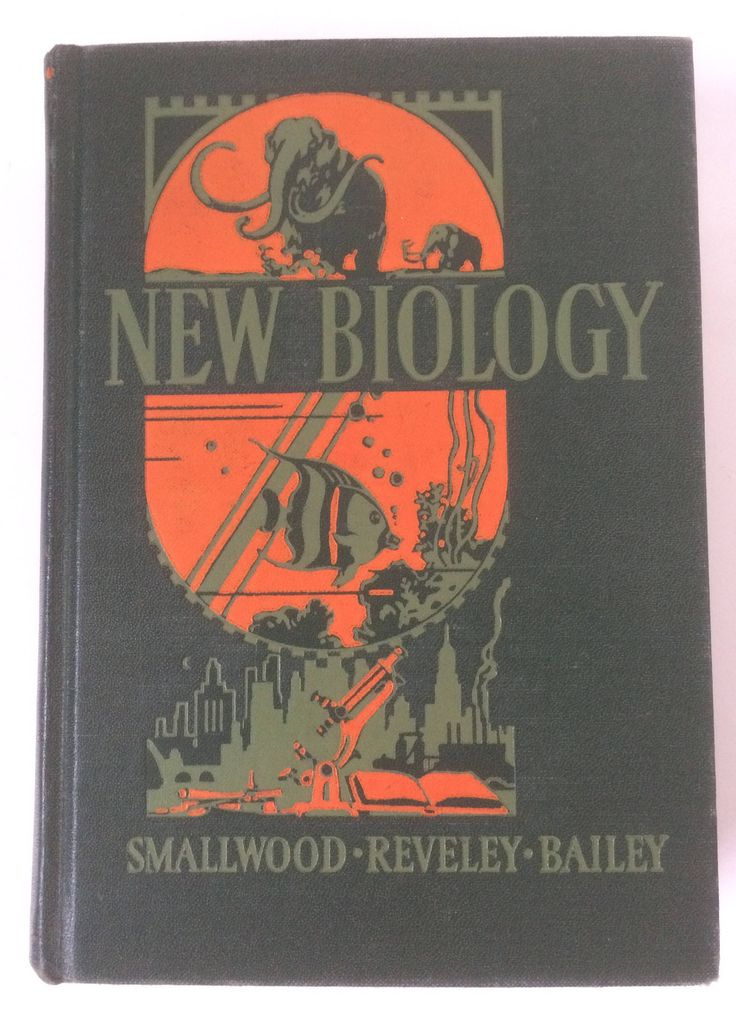 A personal favorite from my Etsy shop https://www.etsy.com/listing/534570763/vintage-science-textbook-new-biology