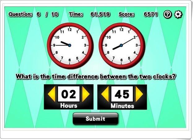 """Time difference"" (Novelgames.com)"