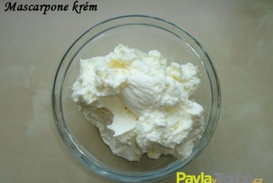 mascarpone krém