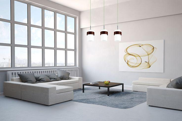 Miele 1 wisząca biała  - 1001lamp.pl