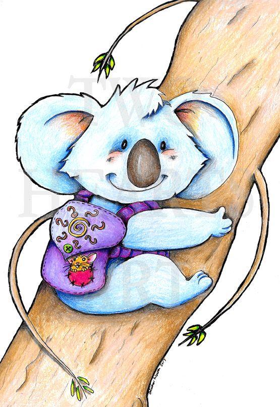 Excited to share the latest addition to my #etsy shop: Giclee Art Print, Koala Art Print, Nursery Decor, Kids Wall Art, Baby Shower Gift, Wall Art, Childrens Room Decor, Koala Nursery Art