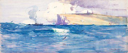 An image of South Head, Port Jackson by Arthur Streeton