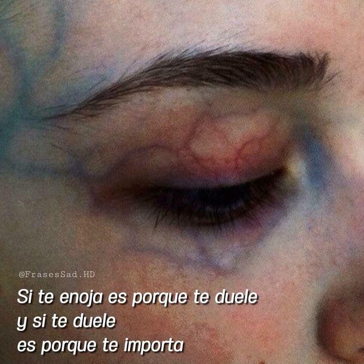 Vez por eso me enojo.... ❤