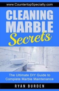 Cleaning Marble Secrets ebook cover