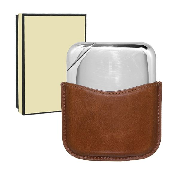 [NOV01] Novus Pewter Hip Flask | Hipflask Company - The UK's leading supplier of quality Hip Flasks