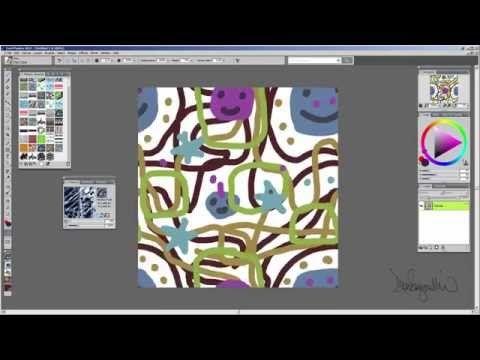 Seamless Patterns | Corel Painter Tutorial | Corel Discovery Center