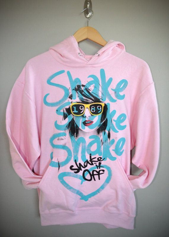 Shake It Off / Taylor Swift 1989 Unisex Fleece Hoodie