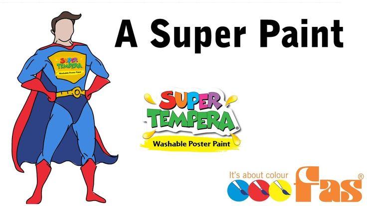 http://www.faspaints.com/super-tempera.html A Super Kids Paint - FAS Super Tempera Washable School Poster Paint