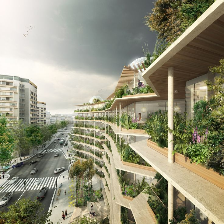 Gallery of Jacques Ferrier Architecture Unveils Their Multi-Layered City Design for Reinventer.Paris - 4
