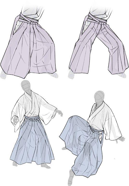 「着物をそれっぽく描くポイント」 [15]