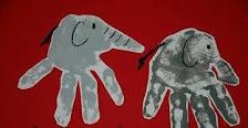 cool elephant craft - use with Elmer by David McKee