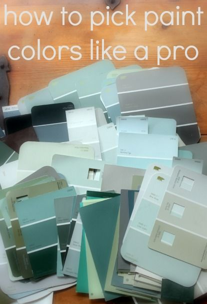DIY:: How To Pick Paint Colors Like A Pro ! Tips from trusted sources on how to pick paint colors that reflect your style, and you will love for years!! Excellent Post !!