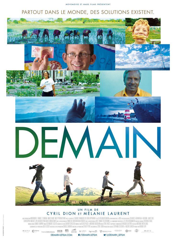 Demain est un film de Cyril Dion avec . Synopsis : Et si montrer des solutions, raconter une histoire qui fait du bien, était la meilleure façon de résoudre les crises écologiques, économiques et socia