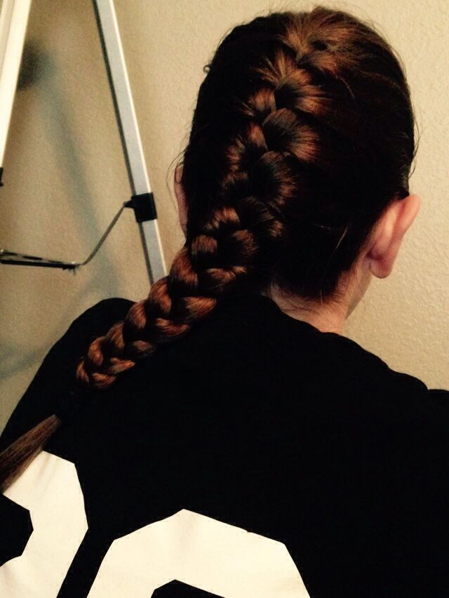 I Love My French Braids For Basketball