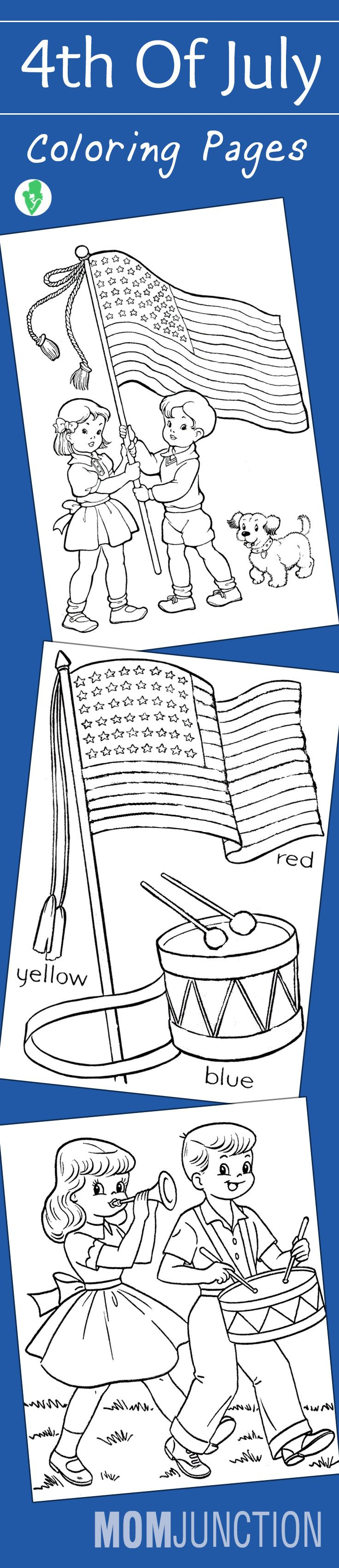 Coloring pages for dots for 4 of july - Top 35 Free Printable 4th Of July Coloring Pages Online