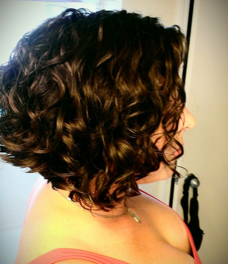 Inverted Bob Haircut For Curly Hair Image Result For Short Curly
