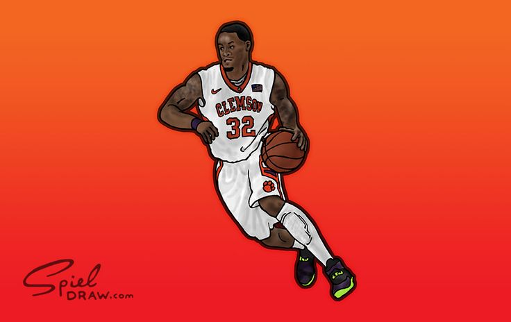 KJ McDaniels Clemson Basketball