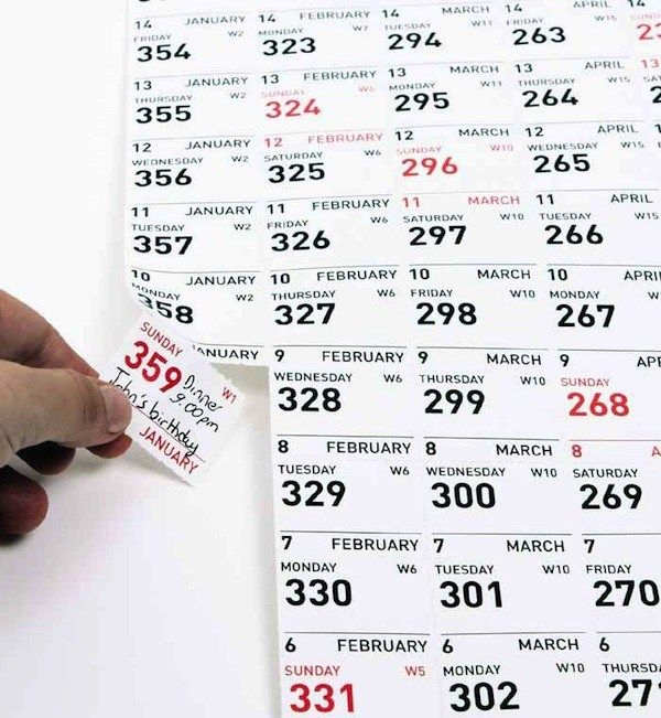 讓你hold住時間的2013年日曆   ㄇㄞˋ點子