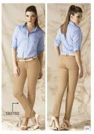 pantalon beige mujer combinacion - Buscar con Google