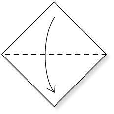 七夕飾り 【あみかざり】の折り紙 (素材型紙) ・ 作り方…