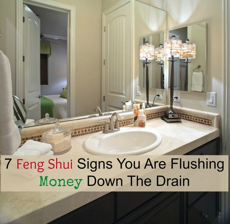 7 Feng Shui Signs You Are Flushing Money Down The Drain ...
